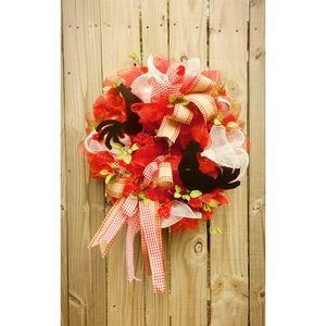 Handmade Farmhouse Door Wreath